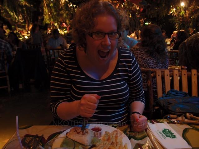 Dinner @ Rainforest Café in London