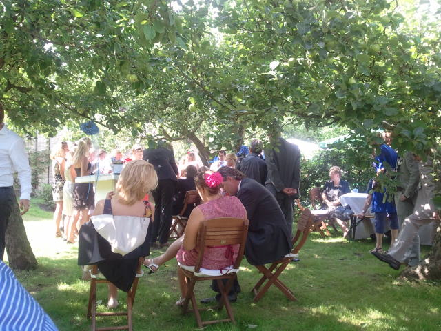 Sitting Between The Apple Trees