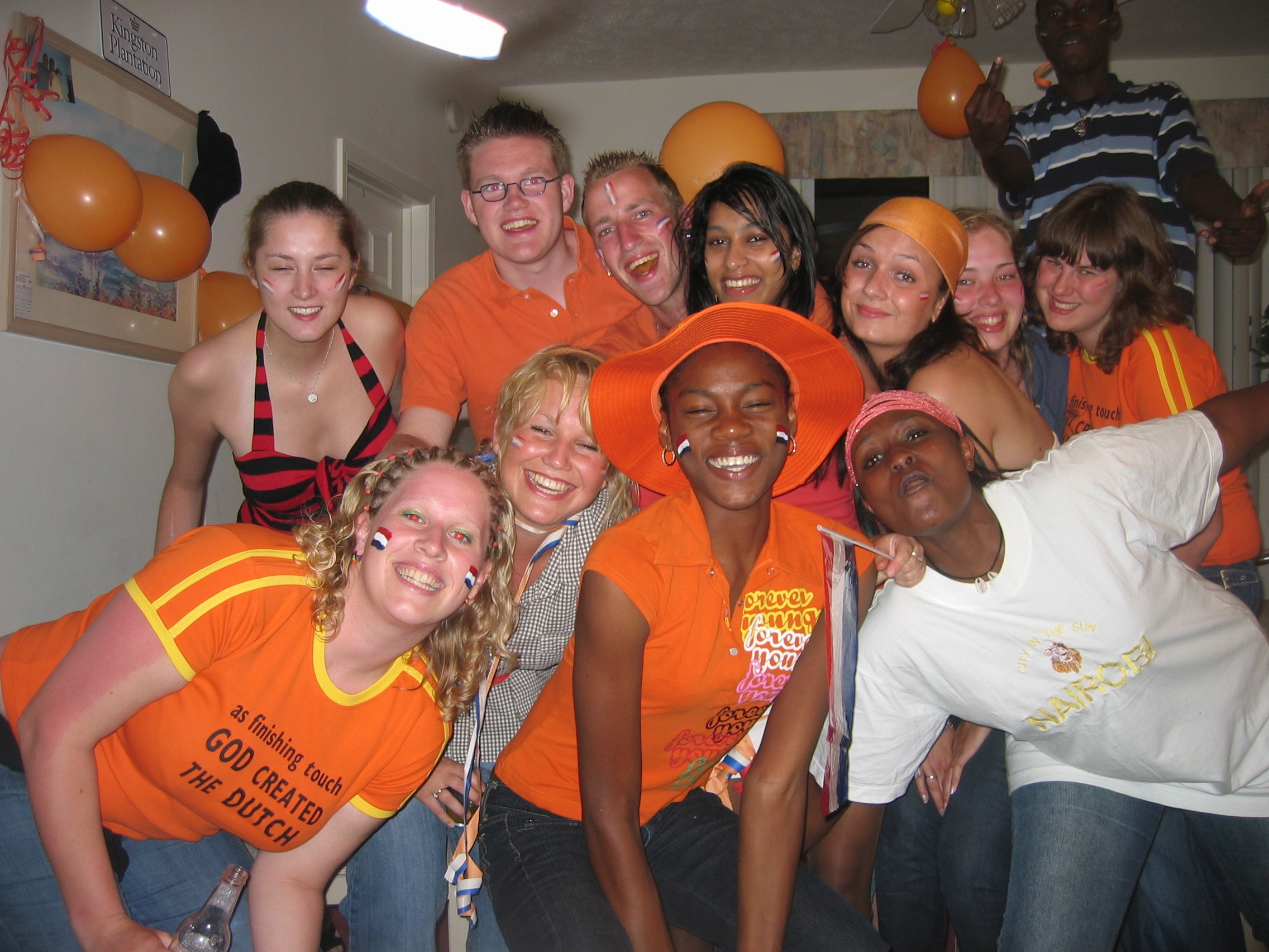 Celebrating Queensday in Myrtle Beach with many different cultures,miss you!