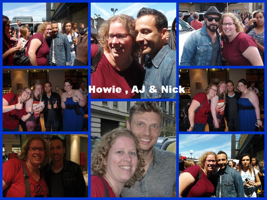 AJ, Nick & Howie