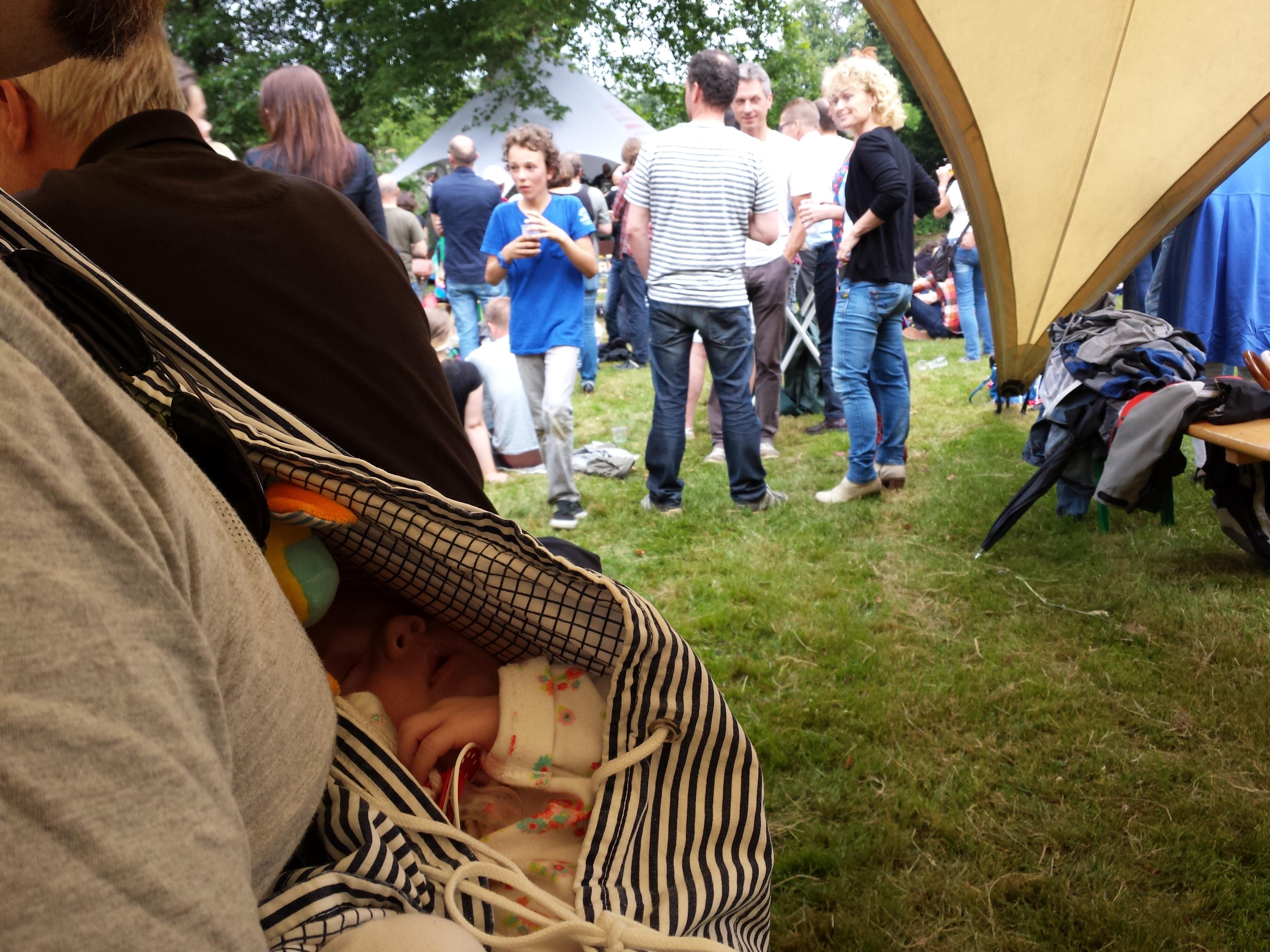 Lola's eerste festival