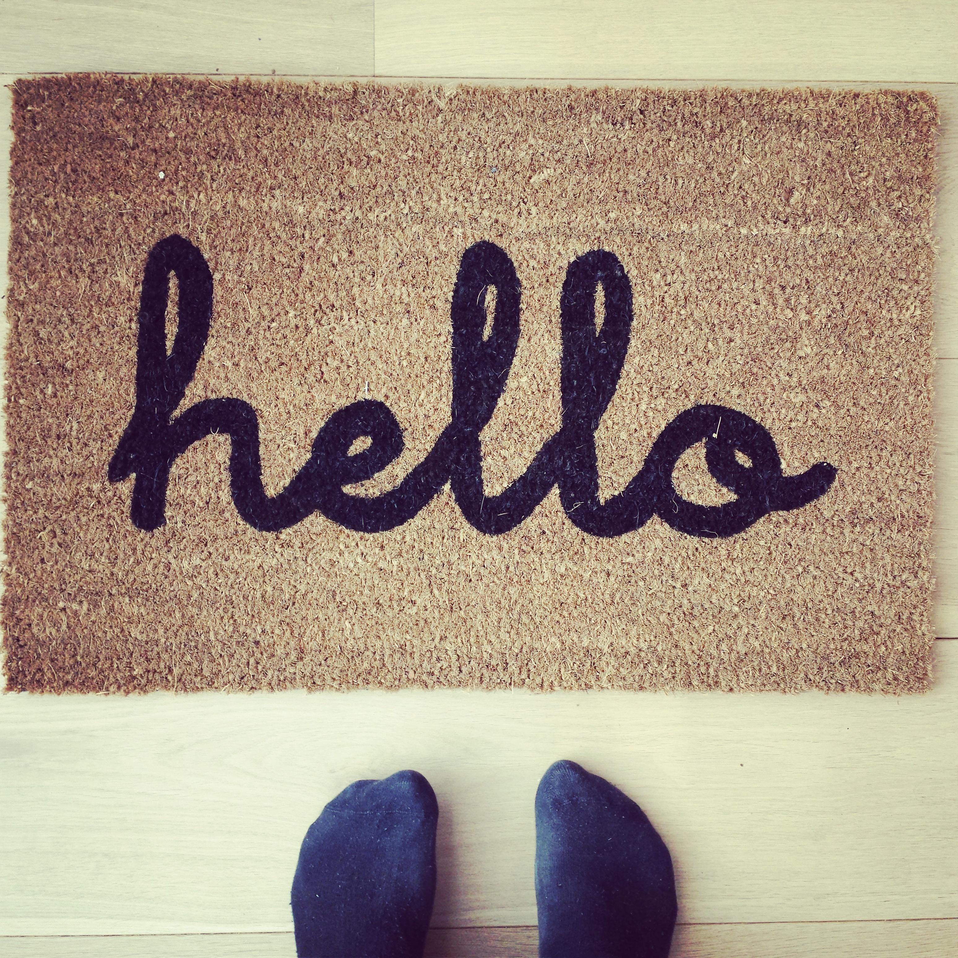 Hello deurmat