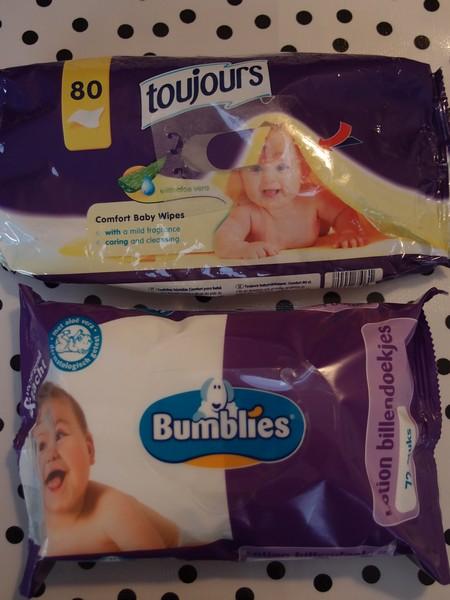 Toujours (Lidl) & Bumblies (Nettorama)