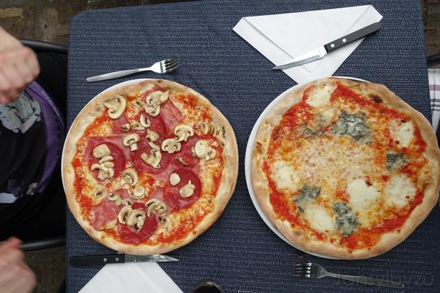 Heerlijke pizza