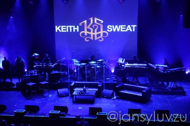 huiskamer van Keith Sweat