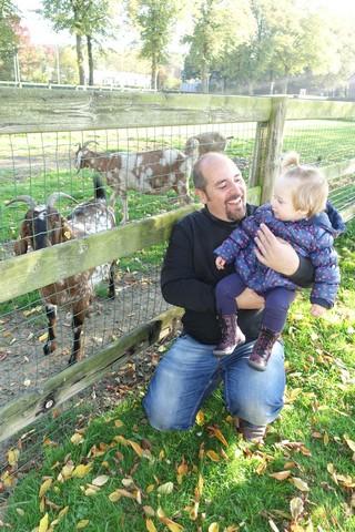 Samen naar de kinderboerderij