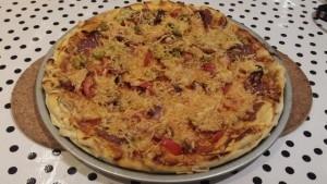 zelfgemaakte pizza