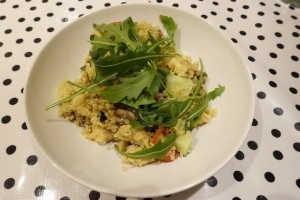 Couscous met verse groenten en kip