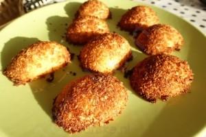 zelfgemaakte cocosmacronen zonder suiker