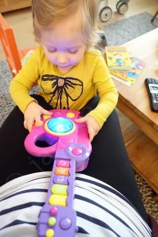Muziek maken voor de baby
