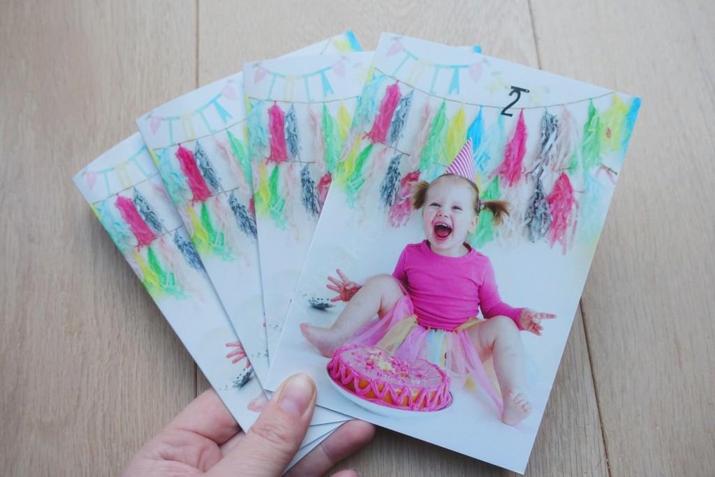 Super DIY #6 - Maak een originele fotokaart als verjaardagsuitnodiging KH66