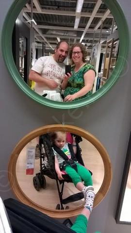 Fotomomentje in de Ikea
