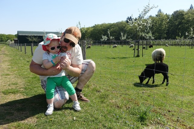 paardenbloempjes blazen met papa