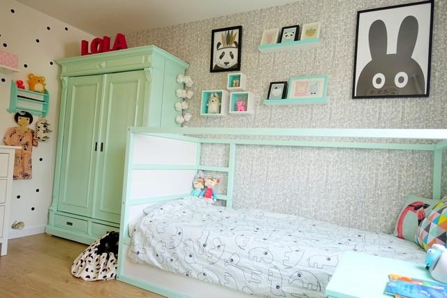 Lola\'s grote meisjeskamer - het eindresultaat in foto\'s! - Janske.nl