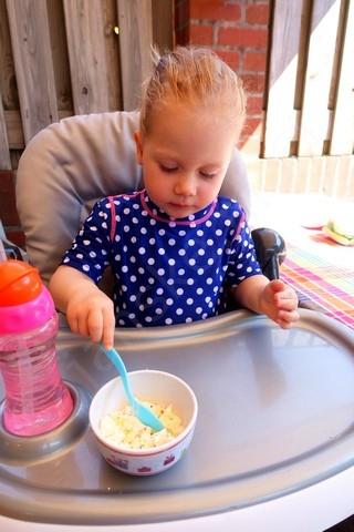 Tijd voor een ijsje met spikkels tussedoor...yummy!