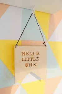 Babykamer voor baby #2 - Hello Little One