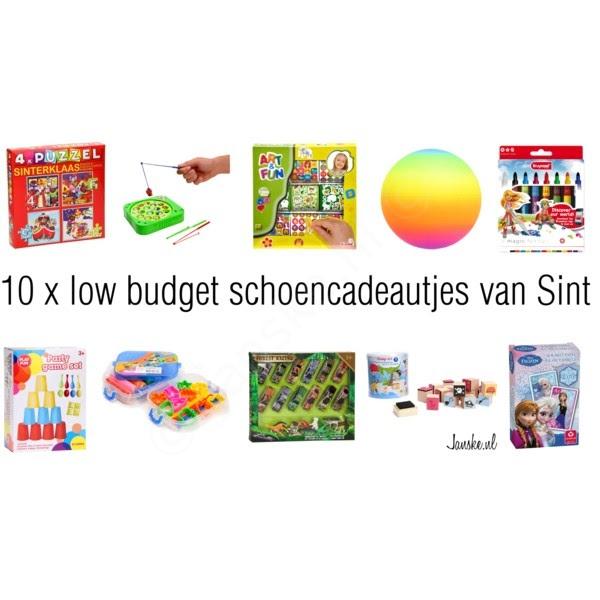 10 x low budget schoencadeautjes van Sint