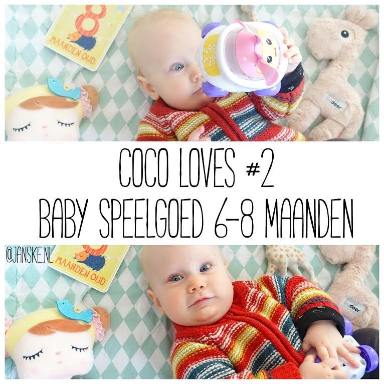 Verwonderlijk Coco Loves #2 – Baby Speelgoed 6-8 maanden - Janske.nl UM-99