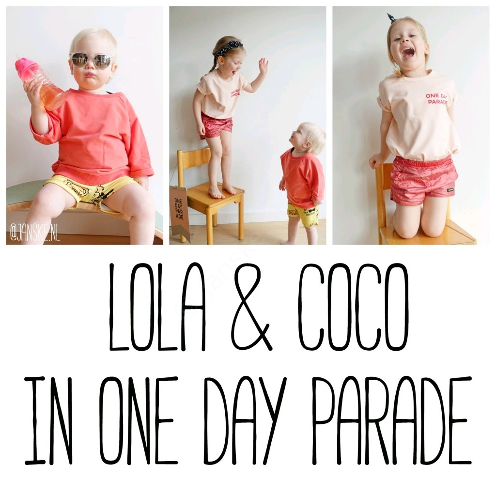 Lola & Coco in One Day Parade