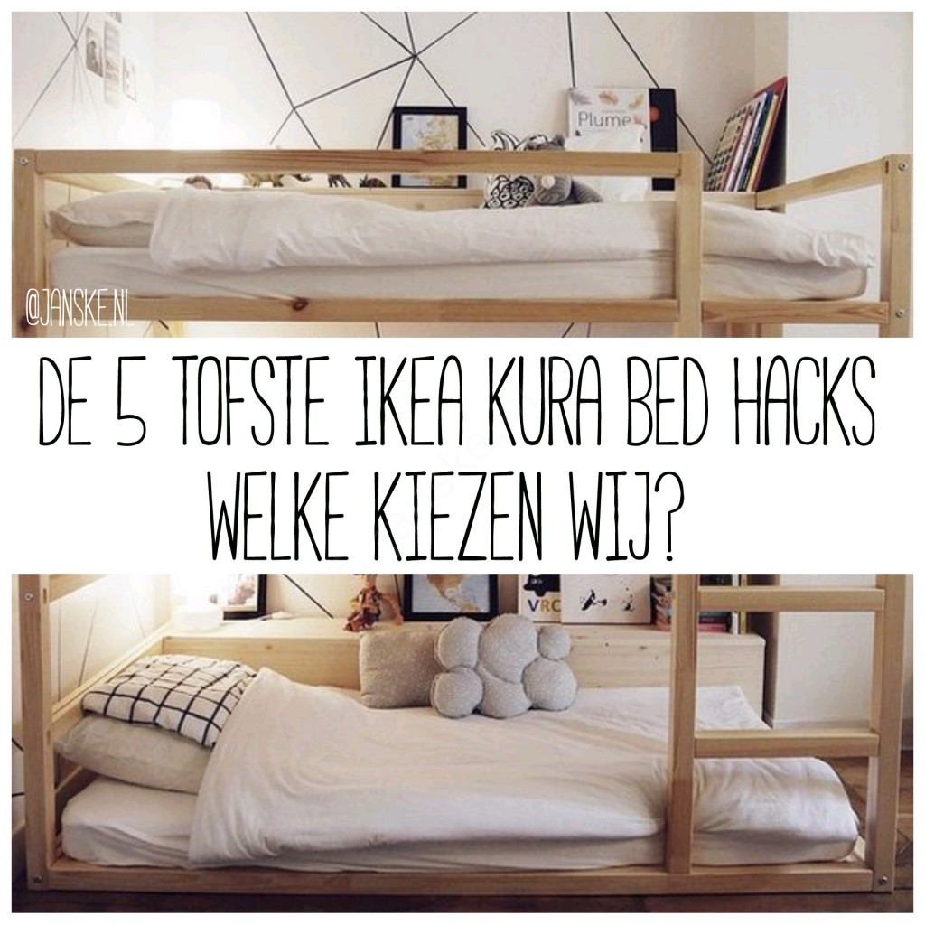 45 Ikea Bedrooms That Turn This Into Your Favorite Room Of: Beroemd Kura Bed Hack @OQQ22