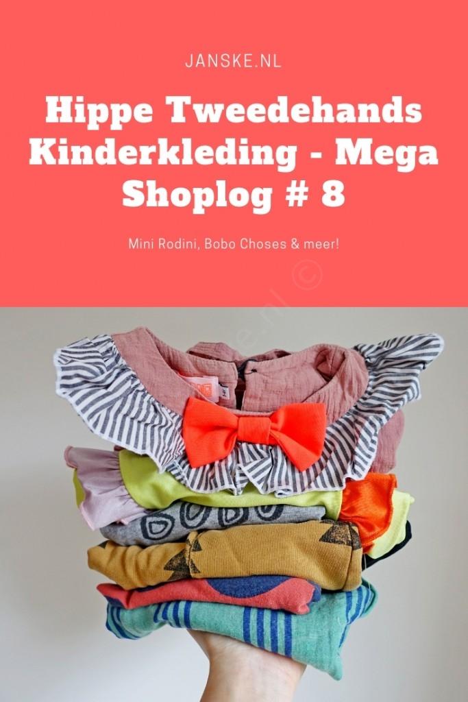 Hippe Tweedehands Kinderkleding - Mega Shoplog # 8 - Mini Rodini, Bobo Choses & meer!  - Janske.nl
