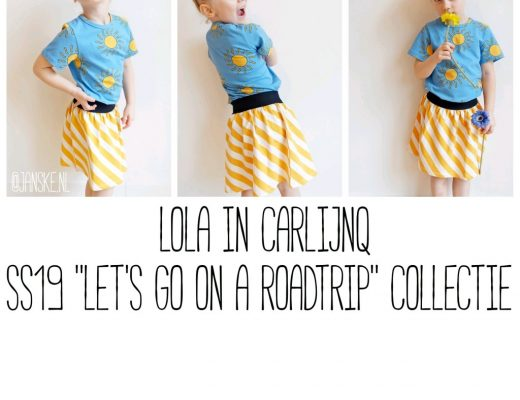 "Lola in CarlijnQ - SS19 ""Let's Go On A Roadtrip"" Collectie"