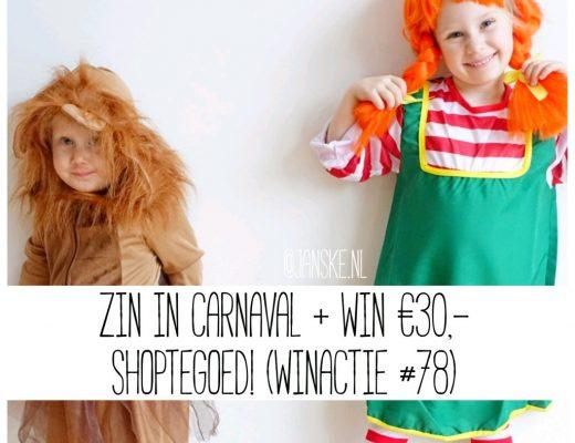 Zin in Carnaval + Win €30,- shoptegoed! (Winactie # 78)