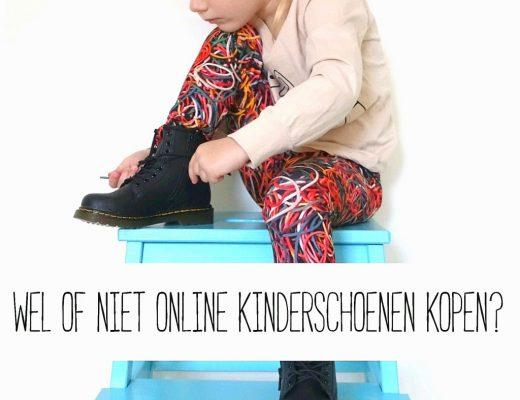 Wel of niet online kinderschoenen kopen?