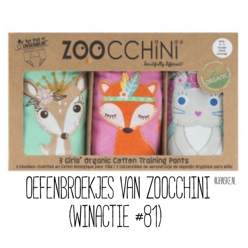 Oefenbroekjes van Zoocchini (Winactie # 81)