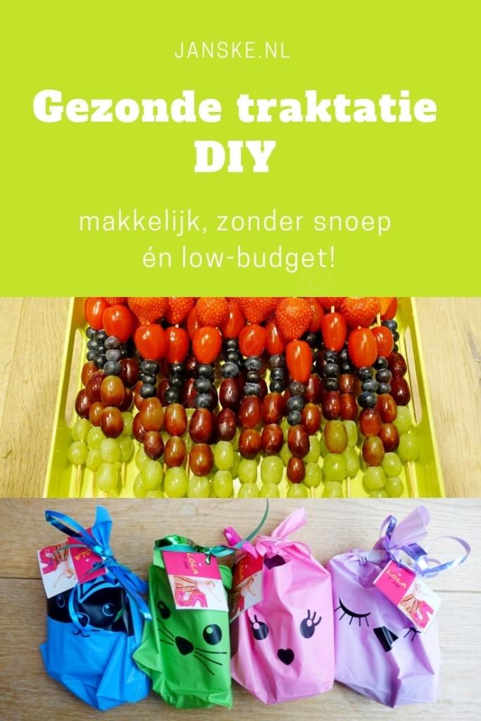 Gezonde traktatie DIY - makkelijk, zonder snoep én low-budget!