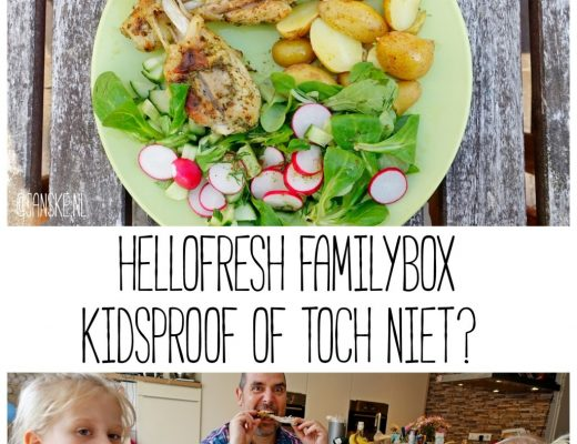 HelloFresh Familybox - Kidsproof of toch niet?