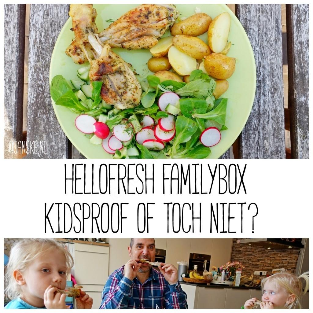 HelloFresh Familybox - Kidsproof of toch niet?