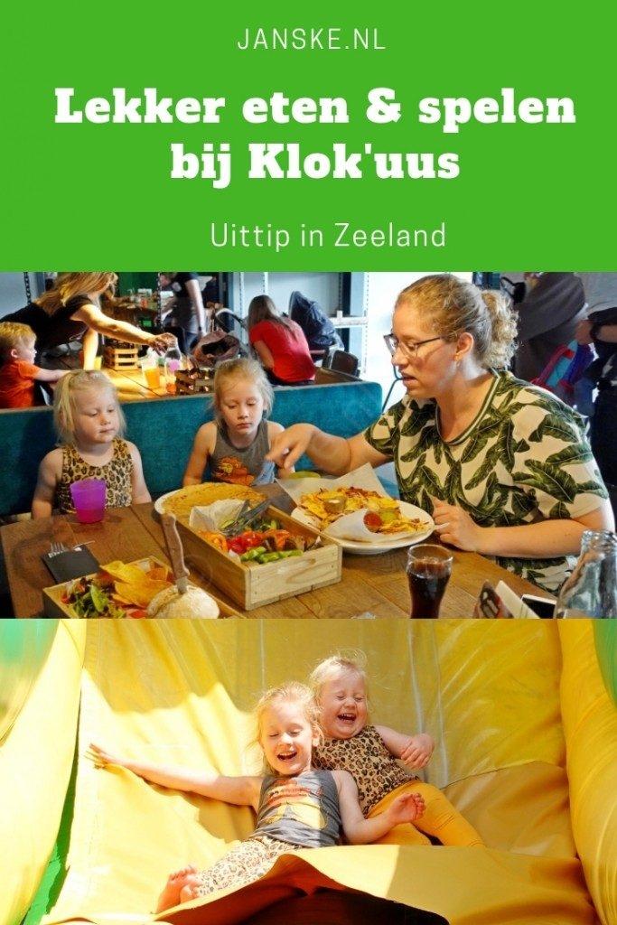 Lekker eten & spelen bij Klok'uus – Uittip in Zeeland