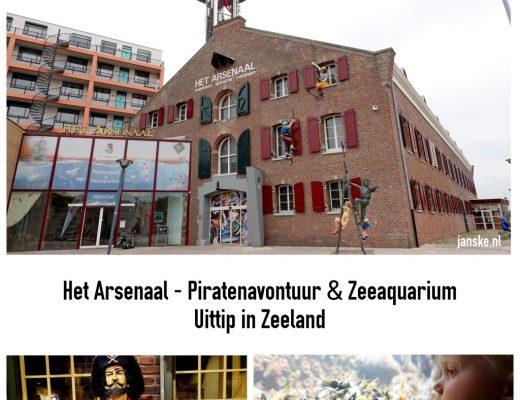 Het Arsenaal - Piratenavontuur & Zeeaquarium - Uittip in Zeeland