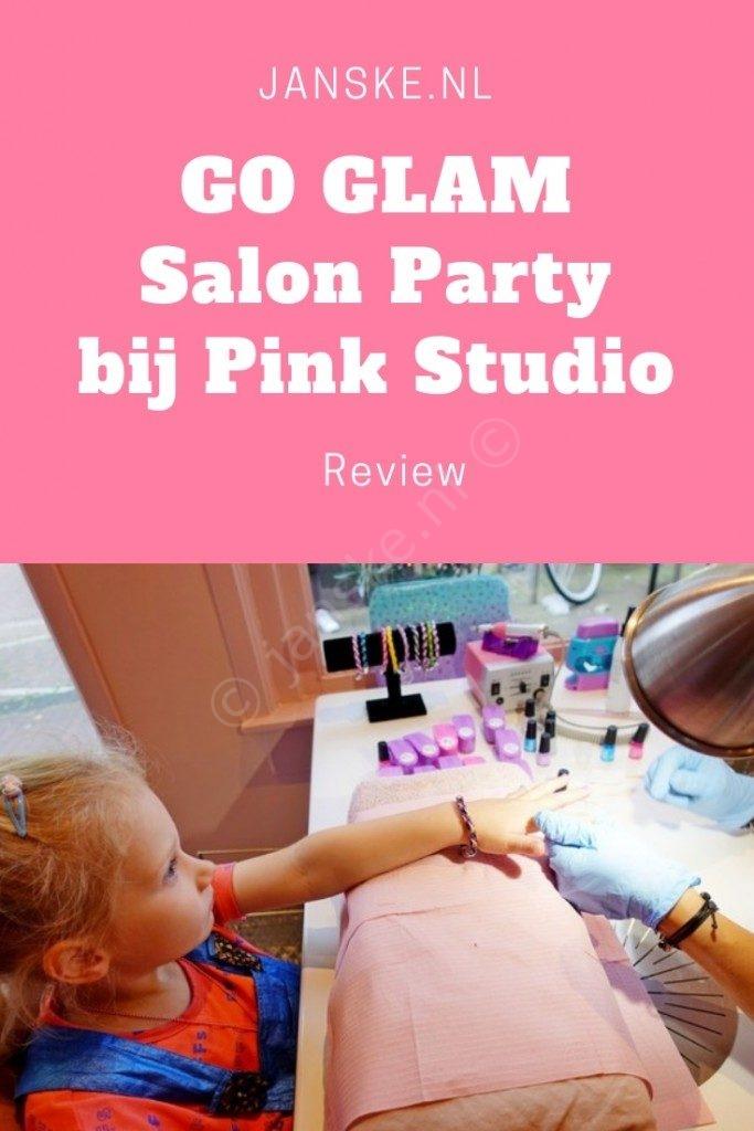 Lola mocht op uitnodiging van Spin Master op de GO GLAM Salon Party in Amsterdam komen.  Als eerste de Cool Maker Go Glam Nail Stamper uittesten! Maar ook voor de allereerste keer in een roze beautysalon haar nagels en haren mooi laten maken. Wat een feest!