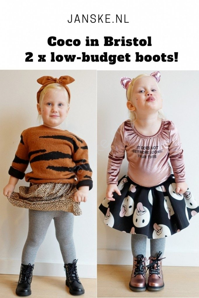 Coco in Bristol – 2 x low-budget boots!