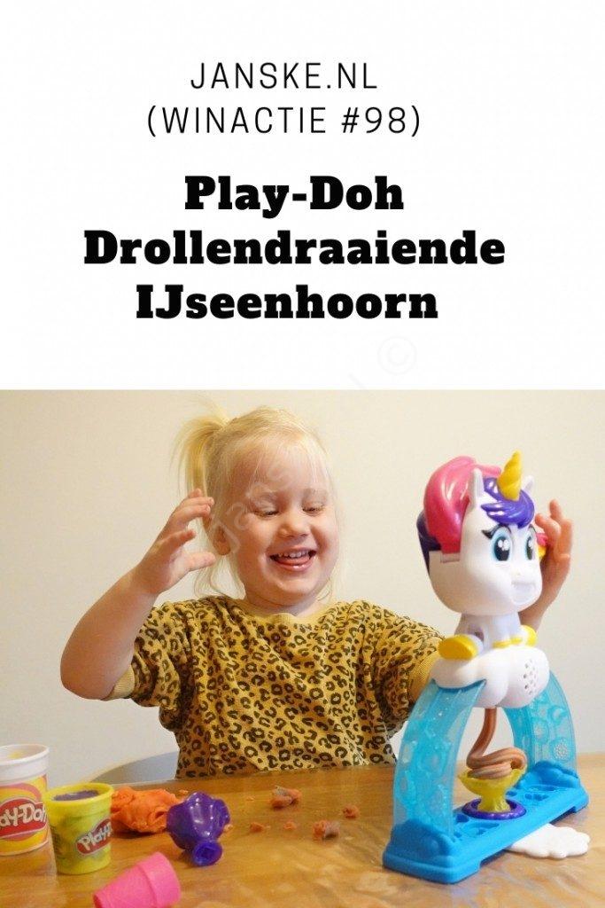 Play-Doh Drollendraaiende IJseenhoorn (winactie #98) -
