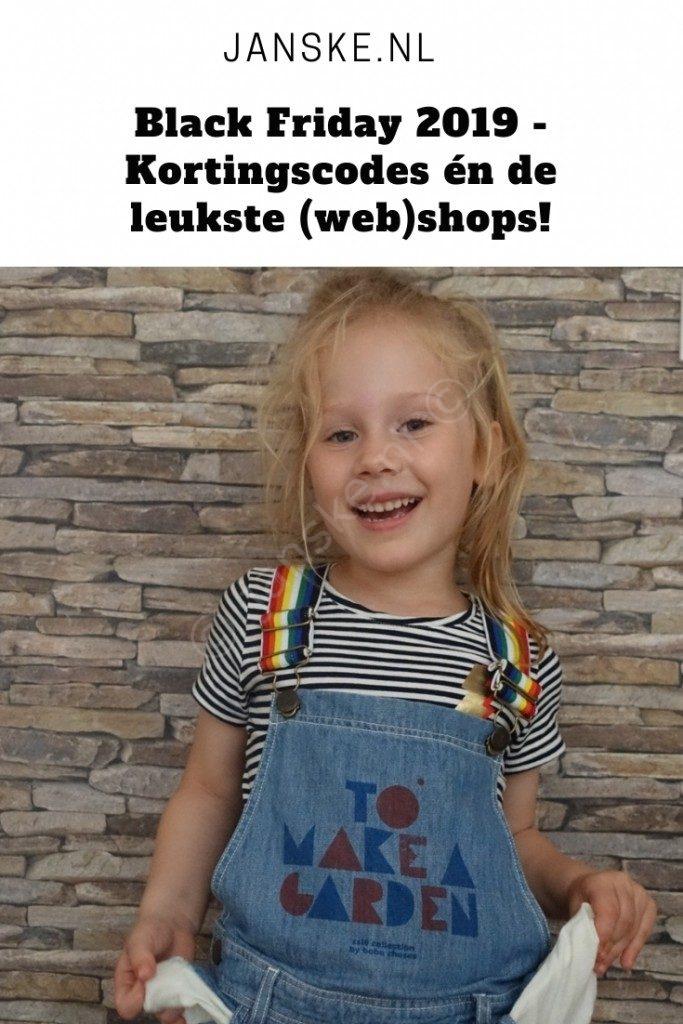 Black Friday 2019 - Kortingscodes én de leukste (web)shops!