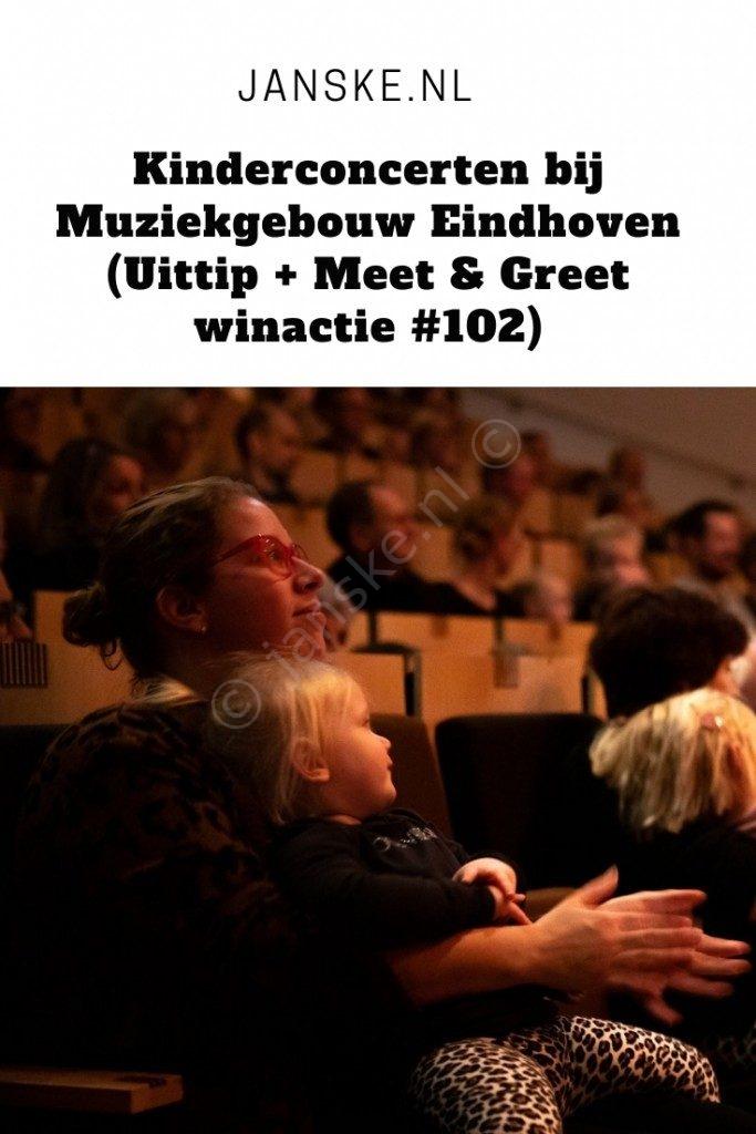 Kinderconcerten bij Muziekgebouw Eindhoven (Uittip + Meet & Greet winactie #102)