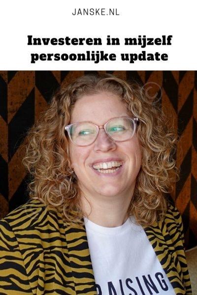 Investeren in mijzelf - persoonlijke update - Investeren in mijzelf, dat is wat ik doe in 2020. In Janske én Janske.nl. Waar heb ik al in geïnvesteerd en wat staat er nog op de planning? Investeer jij wel eens in jezelf?
