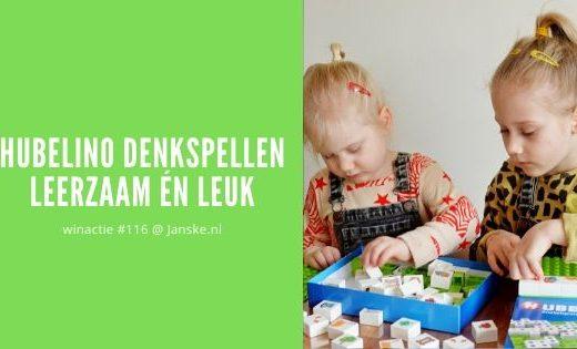 Hubelino Denkspellen - leerzaam én leuk spelen + winactie #116