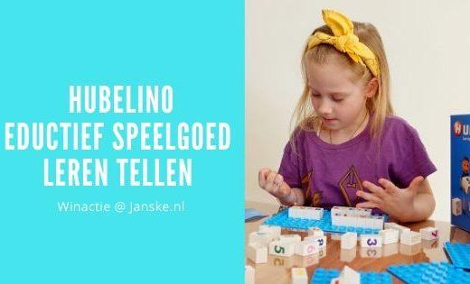 Hubelino eductief speelgoed - Leren tellen + winactie #117