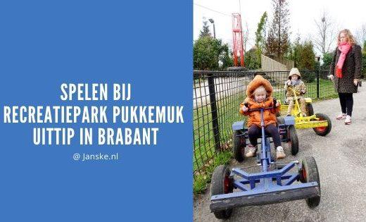 Spelen bij Recreatiepark Pukkemuk - Uittip in Brabant