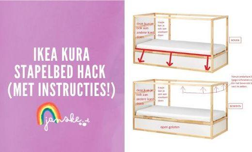 Ikea Kura stapelbed hack (met instructies!)