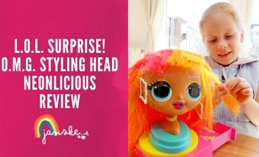L.O.L. Surprise! O.M.G. Styling Head Neonlicious - Review