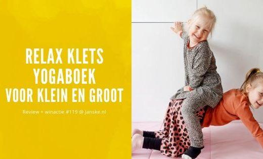 Relax Klets Yogaboek - Review + winactie #119