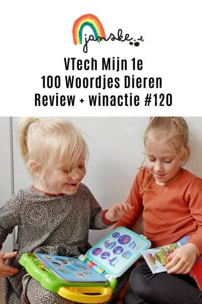 VTech Mijn 1e 100 Woordjes Dieren – Review + winactie #120