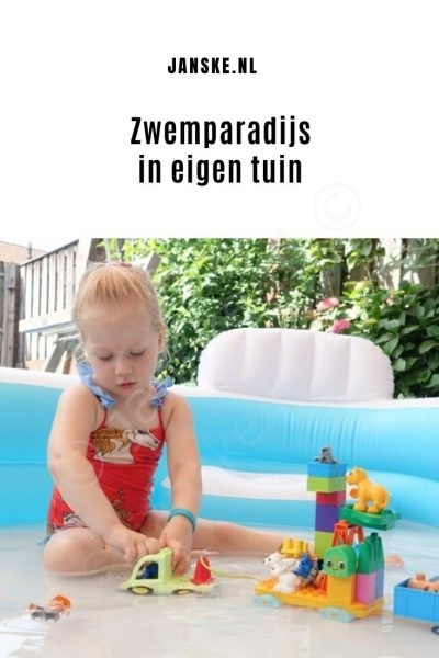 Zwemparadijs in eigen tuin