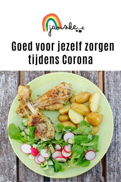 Goed voor jezelf zorgen tijdens Corona