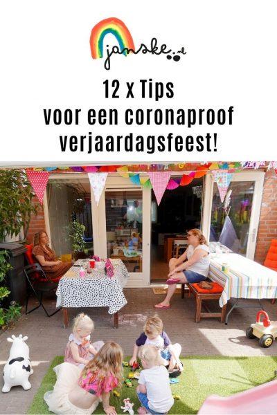 12 x Tips voor een coronaproof verjaardagsfeest!